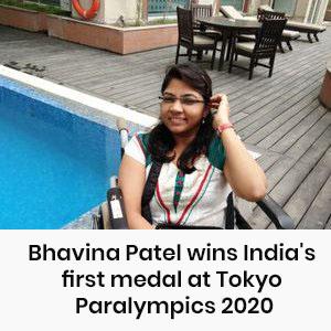 Bhavina Patel wins India's first medal at Tokyo Paralympics